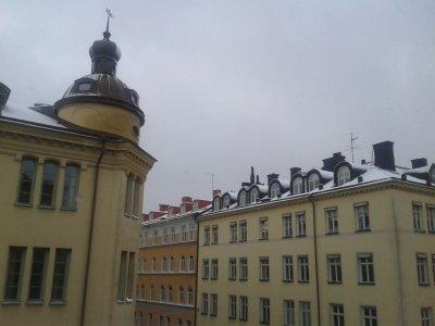 Stockholm - Sztokholm u progu zimy anno Domini 2012