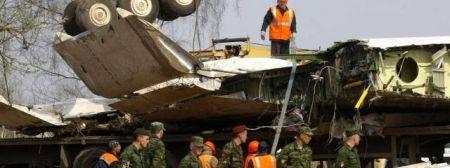 fragment tupolewa roztrzaskanego pod Smoleńskiem 10 kwietnia 2010