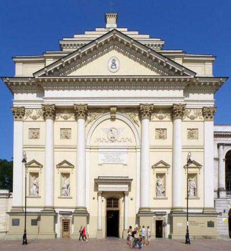 Kościół rektoralny św. Anny w Warszawie_fot. Alina Zienowicz
