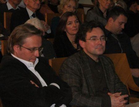 Dariusz Gawin i Dariusz Karłowicz - wydawcy nagrodzonej książki_fot. Bogdan Krawczyk