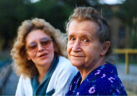 Mama i Siostra_ Rzeszów, początek lat 90.