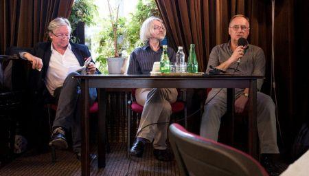 od lewej: Andrzej Ferenc, prof. Wojciech Ligęza, Waldemar Żyszkiewicz